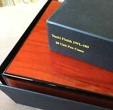 1990s Venlo Pen Case, Case is Flawless, Immaculate Condition, Holds 20 Pens