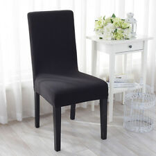 Durable Spandex Kitchen Hotel Bar Dining Chair Seat Cover Protector Slipcovers