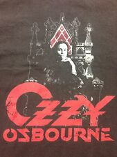 Used Ozzy Osbourne Winterland Black Sabbath Metal Punk Rock War Pig T Shirt Med
