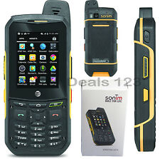 New Sonim XP6 AT&T GSM UNLOCKED AT&T Rugged Waterproof Military Grade XP6700