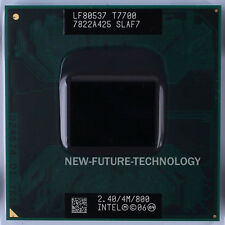 Intel Core 2 Duo T7700 2.4GHz 4MB 800 MHz Socket M Socket P CPU Processor Tested