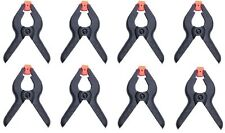 "8 x PLASTIC SPRING CLAMPS GRIPS CLIPS MARKET STALL 2 "" MICRO SMALL"