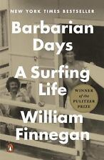 BARBARIAN DAYS: A SURFING LIFE by WILLIAM FINNEGAN Nonfiction Sports Paperback