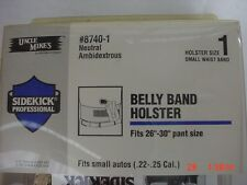 "Uncle Mike's 8740-1 Belly Band   Holster  Ambidextrous  Size  1   26""-30"""