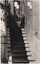 Stairway Boscawen Manor LUNENBURG Nova Scotia 1940-60 Canadian Post Card Co RPPC