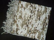 Shemagh-Tactical Digital Scarf Brown Camouflage