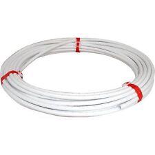 15mm x25mtr Plástico Blanco pushfit barrera pipe/tube para plumbing/central Calefacción