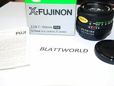 NEW ORIGINAL FUJI Fujifilm FM 50mm F1.9  X- FUJINON Lens FUJINON X SERIES in BOX