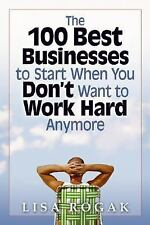 100 Best Businesses to Start When You Don't Want to Work Hard Anymore