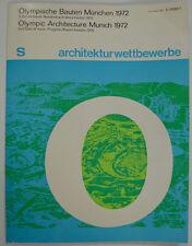 """Olympische Spiele 1972 München """"S architektur wettbewerbe"""" Otl Aicher OLYMPIADE"""