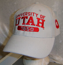 "University of Utah Hat Cap 1850 USA  Fitted L XL about 7 5/8""   Unisex New"