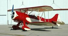 """1/4 Scale WACO UPF-7 92"""" Giant Scale RC AIrplane Printed Plans"""