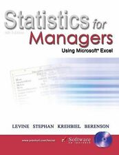 Statistics for Managers Using Microsoft Excel, Fourth Edition