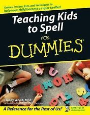 Teaching Kids to Spell For Dummies-ExLibrary