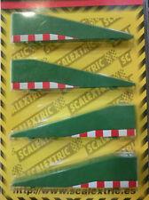 Bordes recta de cierre para Scalextric SCX ES 1/32 Ref. 8822