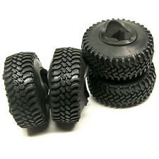 "4PCS RC Rock Crawlers 1.9"" beadlocks 100mm Tyres For 1/10 Tamiya SCX10 RC4WD D90"