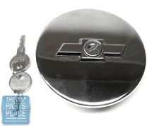 1965-67 Chevrolet Nova / Chevy II Chrome Locking Gas Cap With Bowtie