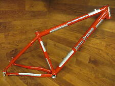 RARE CUSTOM JAMES FRAMES 29ER MTB DISC BRAKE FRAME MEDIUM 17.5""