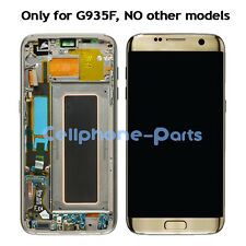 Samsung Galaxy S7 Edge G935F LCD Screen Display with Digitizer & Frame, Gold