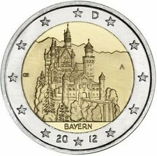 Germania   2€ 2012 Bayern  FDC