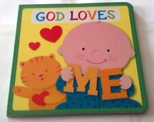 GOD LOVES ME BOOK WITH 3 SONG DOWNLOAD - PLEASE SEE DESCRIPTION - JD110
