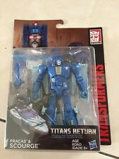 Transformers Titans Return Fracas & Scourge NEW