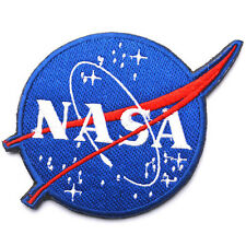 NASA Space Program Vector Patch Emblem Embroidered Hook & Loop VELCRO PATCH