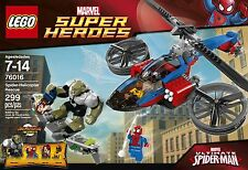 LEGO 76016 MARVEL SUPERHEROES SPIDER HELICOPTER RESCUE SEALED BRAND NEW