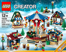 Lego Creator 10235 Winter Village Market Carousel Carnival NEW SEALED In hand