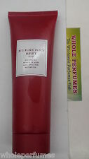 BURBERRY BRIT RED FOR WOMEN 3.3 / 3.4 OZ / 100 ML SENSUAL BODY WASH NO BOX