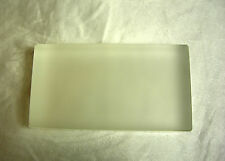 Optical Quality Glass Block Slab for Physics Refractive Experiment
