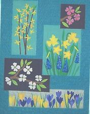 Woodland Spring applique quilt pattern by Country Manor Quilts