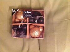 Disney Christmas baubles tree decorations brand new sealed in box Mickey Mouse