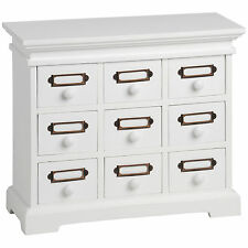SMALL 9 DRAWER DESKTOP CABINET - USEFUL ADDITION TO THE HOME AND OFFICE.