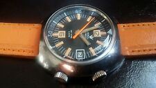 """CRONEL"" JET KING 600/PILOT OF COMBAT/WATCH DIVER VINTAGE 69S / ULTRA RARE"