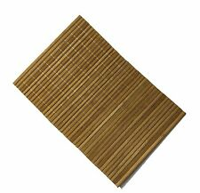 Bamboo Wood Place Mats Placemats in Beech Colour Dinner Table Plates -  Pans Hot