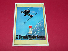 N°257 SAPPORO HIVER PANINI OLYMPIA 1896 - 1972 JEUX OLYMPIQUES OLYMPIC GAMES