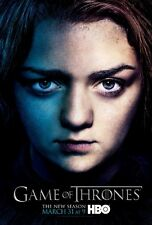 POSTER IL TRONO DI SPADE GAME OF THRONES SEASON 3 ARYA STARK GEORGE R MARTIN #41