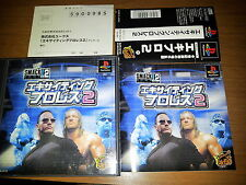 SMACK DOWN 2 SONY PLAYSTATION VIDEOGAMES PS JAP JAPANESE PSX PS1