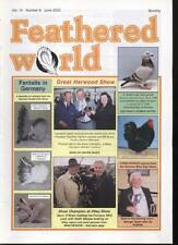 FEATHERED WORLD MAGAZINE - June 2002  Poultry Pigeons