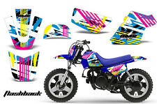 YAMAHA PW 50 Graphic Kit AMR Racing Bike Decal Sticker Part PW50 90-16 FLASHBACK