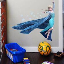 Disney Eiskönigin Wandtattoo Wandsticker Elsa Frozen Wandaufkleber Kinderzimmer