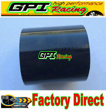 """NEW 2.5"""" 64mm Silicone Straight hose Turbo Intake INTERCOOLER Coupler PIPE bla"""