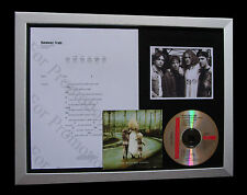 SOUL ASYLUM Runaway Train LTD MUSIC CD QUALITY FRAMED DISPLAY+FAST GLOBAL SHIP
