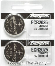 2 pcs 2025 Energizer Watch Batteries CR2025 CR 2025 3V Lithium Battery 0%HG
