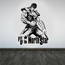 Fist Of The North Star Hokuto No Ken Cool Manga Wall Art Sticker/Decal