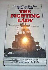 The Fighting Lady (VHS) Academy Award Winner Best Documentary, NEW and SEALED!