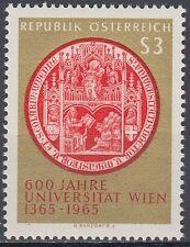 Österreich Austria 1965 ** Mi.1180 Universität University Siegel Seal Wien