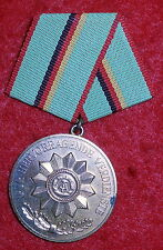 "VP189 East German Medal, 5 years ""True Service"" in the ministry of the Interior"