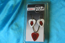 University of Arkansas Gameday Pick Wear Earings and Necklace Set, CGPW1-AR